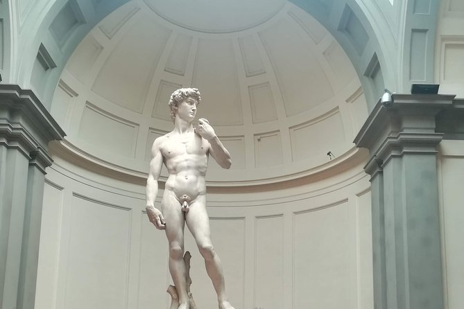 VIRTUAL TOUR: Accademia Gallery, the David from closer up