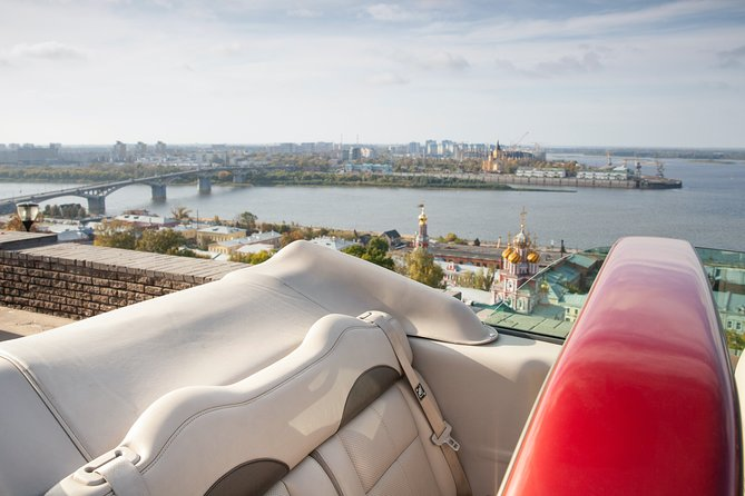 Guided tours in a cabriolet (Nizhny Novgorod)