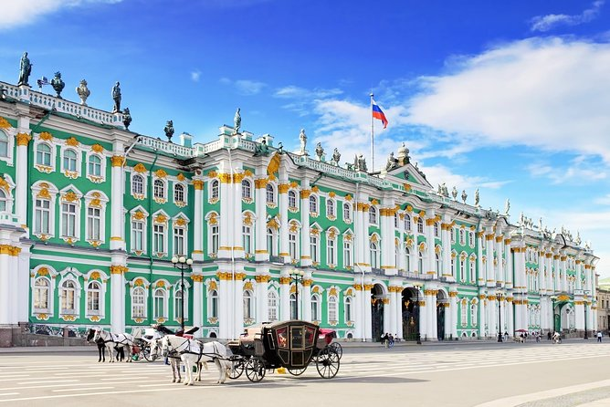 2-Day Mini-Group Shore Excursion in St.Petersburg with Hermitage & Canal Cruise