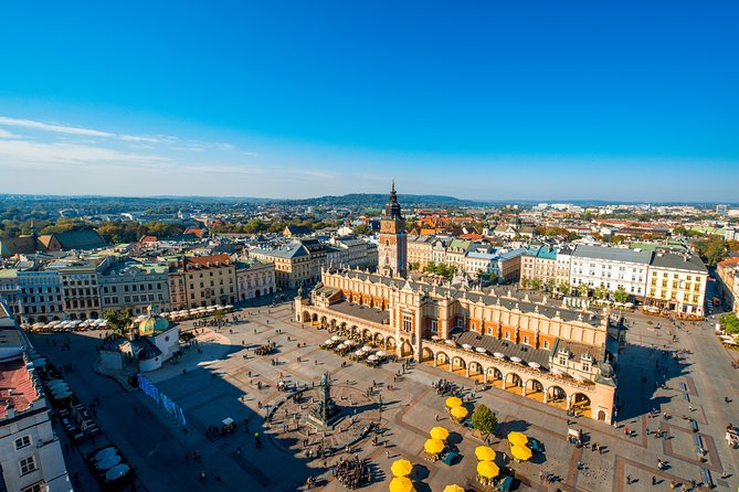 Krakow in a Day: 3-Hours City Tour by Electric Car