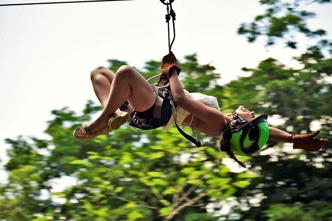 Experience ATV (shared) Zipline and Cenote