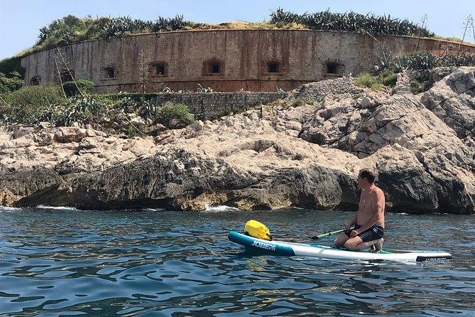 Stand Up Paddle Boarding activity in Boka Bay