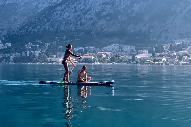 Private Stand Up Paddle Board Experience in Bay of Kotor