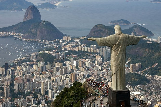 Christ + Sugarloaf Mountain + Lunch (One day in Rio de Van)