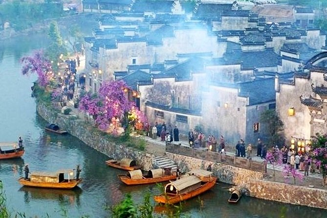 Hongcun and Chengkan Ancient Village Private Day Tour from Huangshan