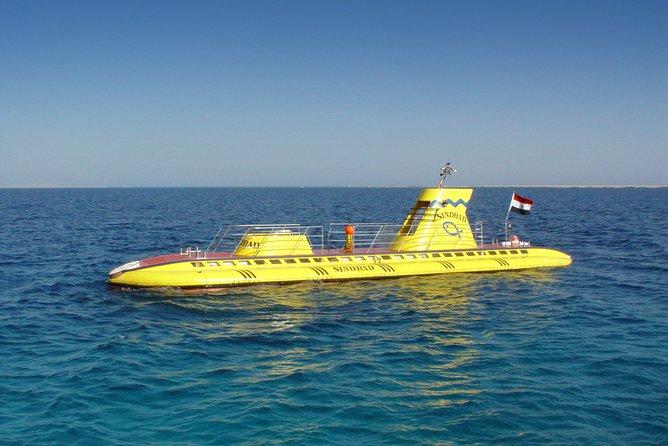 Hurghada: Sindbad Submarine 3-Hour Tour with Hotel Pickup