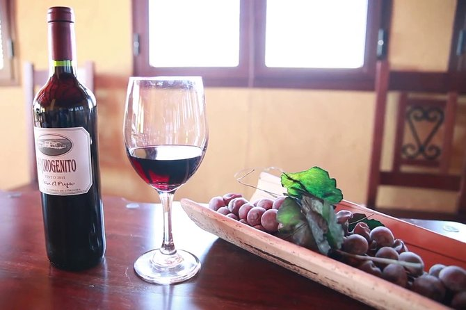 Visit and special tasting paired at Bodega El Pujío