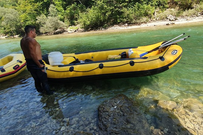 Half-Day Rafting Activity in Konjic with Lunch
