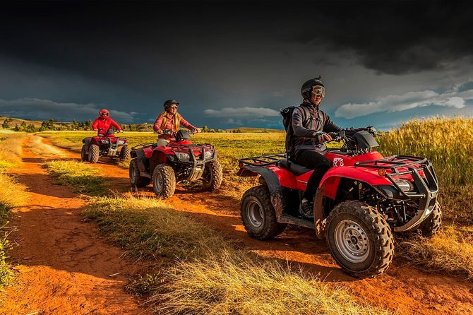 ATV tour of Maras and Moray from Cusco