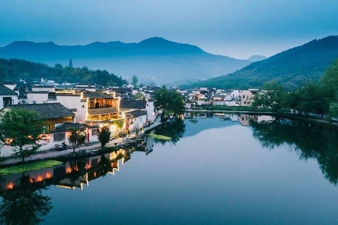 Shanghai To Huangshan Bullet Train Ticket with Local Private Transfers