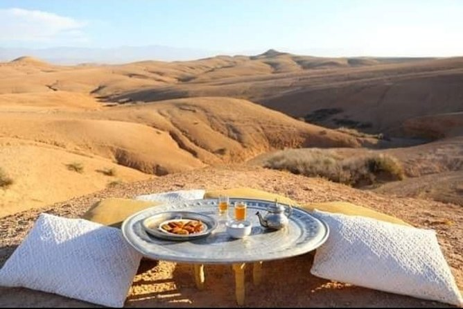 Desert Agafay and Atlas Mountains Guided Day Tour from Marrakech