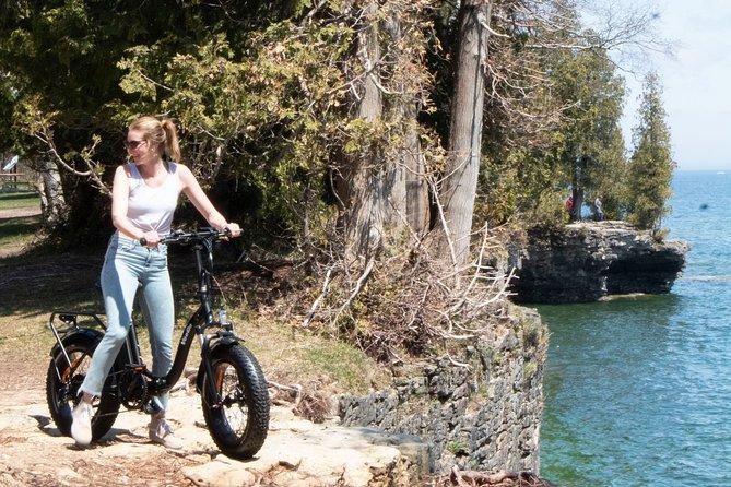 Cave Point Fat Tire E-Bike Tour