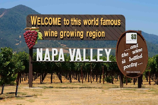 6-Hours Customized Private NAPA Valley Wine Tour From San Francisco Bay Area