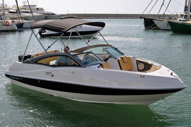 Boat rental - with skipper - 4 HOURS in Almuñécar