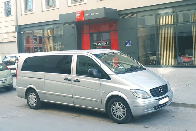Skopje Airport Private Transfer for up to 3 Passengers