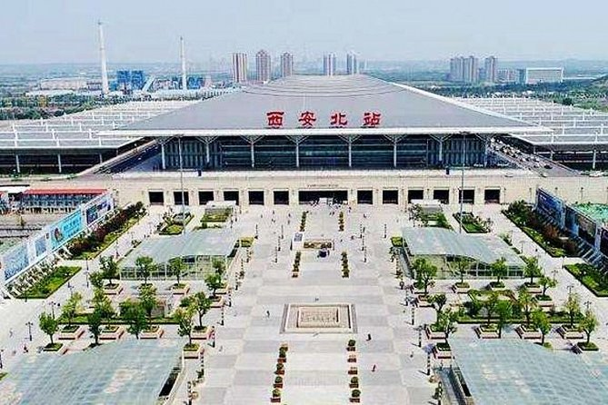 Xi'an Railway Station Private Arrival Transfer to City Area
