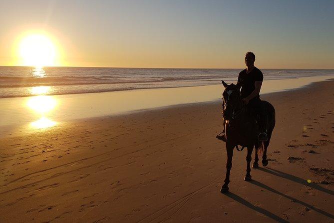 Stunning Sundown Beach Ride / Moonlight Beach Ride ... on horseback!