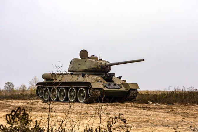 T-34 Tank Riding | Military Driving Experience