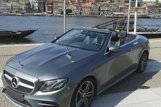 Taste Porto in a Luxury Convertible Mercedes.