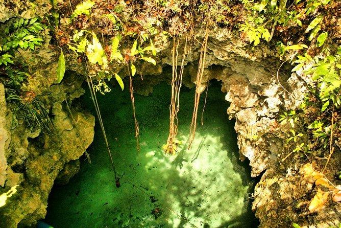 Caribbean Sea Snorkeling, underground river and cenote adventure from Tulum