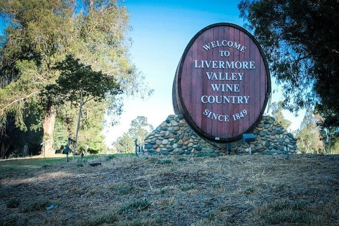 6-Hour Customized Private LIVERMORE Valley Wine Tour From San Francisco Bay Area