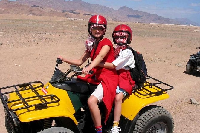 Hurghada: Quad Bike Safari with Camel Ride