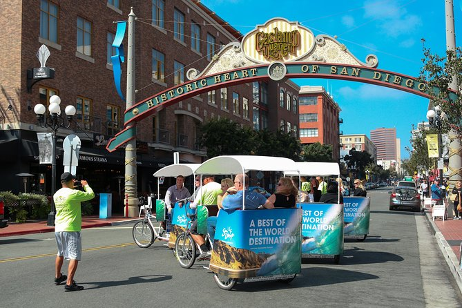 Private City Tour of San Diego by Electric Chariot