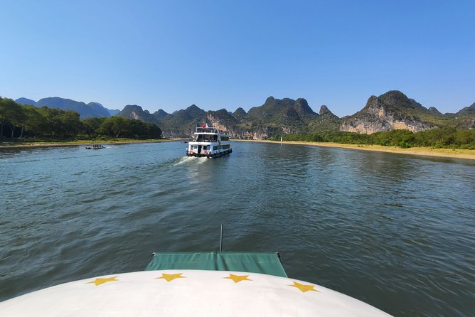 4-Star Li-River Cruise boat ticket and River Wharf Transfer from Yangshuo hotel