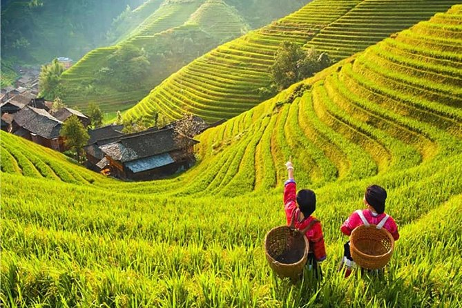 2-Day Private Guilin Essence Tour: Longji Rice Terrace and Cruise to Yangshuo