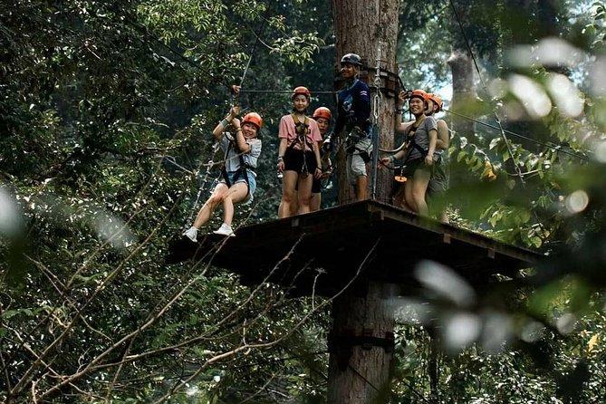 Hanuman World Phuket Zipline 7 Platforms & SKYWALK