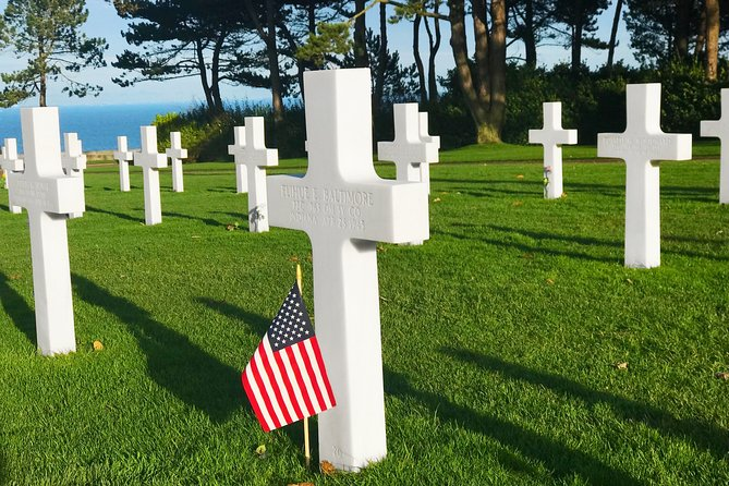 Normandy D-Day Beaches Private Day Trip with American Cemetery & Omaha Beach