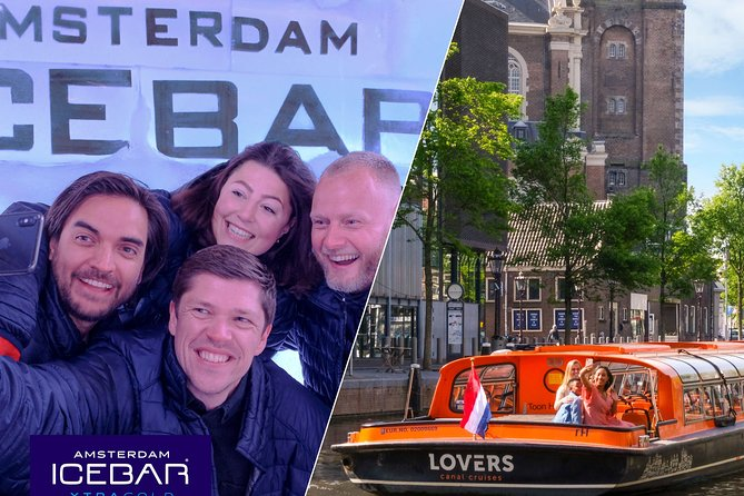Amsterdam Combo: XtraCold Icebar & 1-Hour Canal Cruise