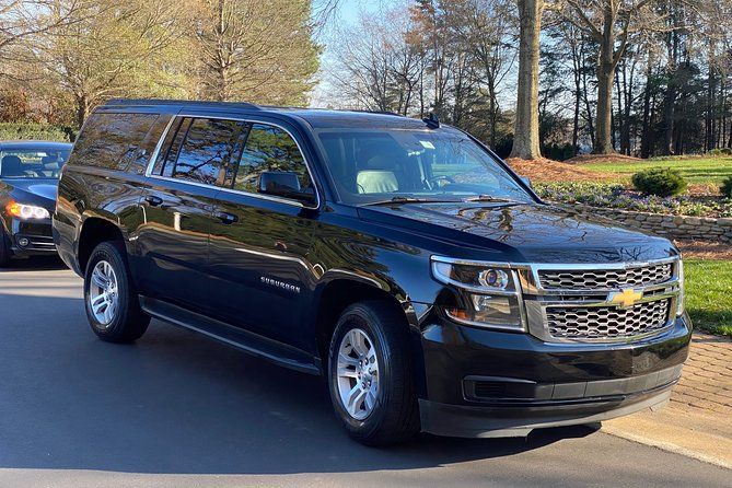 Private Luxury Car Transfer High Point to (or from) Charlotte Airport CLT