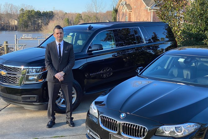 Private Luxury Car Transfer Charlotte Airport (CLT) to (or from) Charlotte, NC