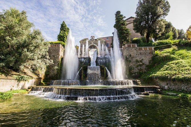 Tivoli Villa D'Este & Hadrian's Villa Semi-private tour with lunch