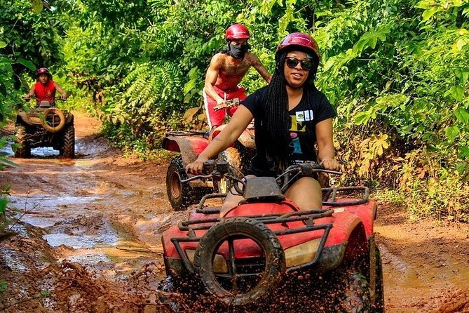 One day at Tour Extreme in Riviera Maya with ATVS (shared) Ziplines and Cenote photo 2