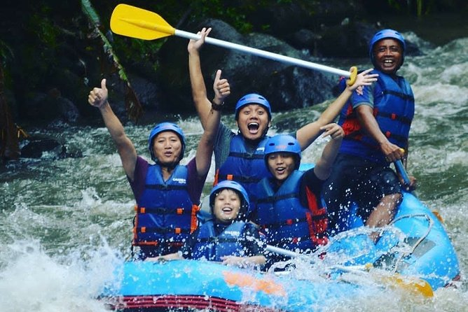 White Water Rafting and Rice Terrace Tegalalang (Ubud pick up)