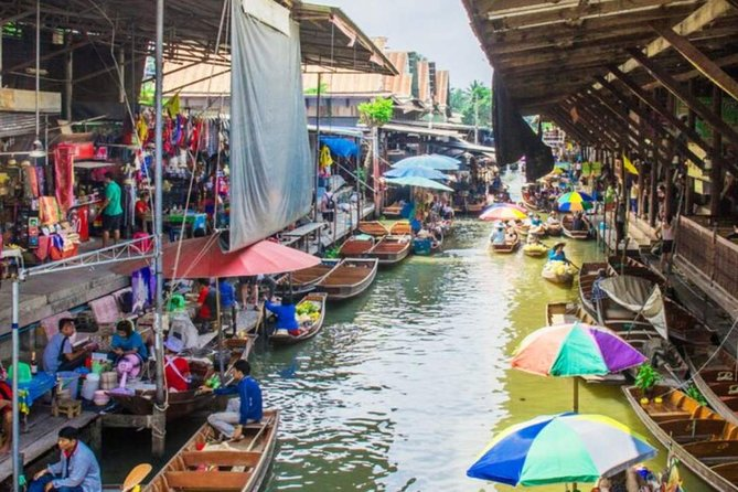 Damnoen Saduak Floating Market Day Tour