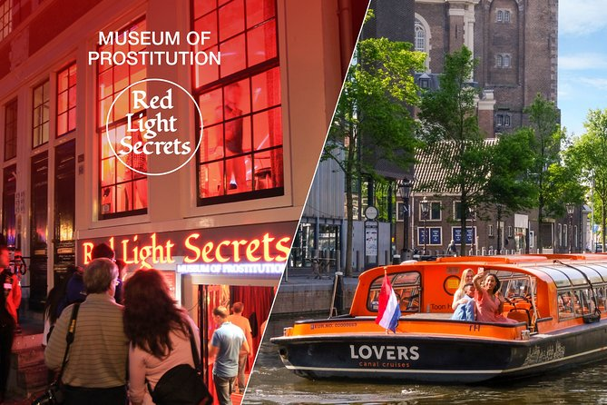 Amsterdam Combo: Red Light Secrets Museum & 1-Hour Canal Cruise