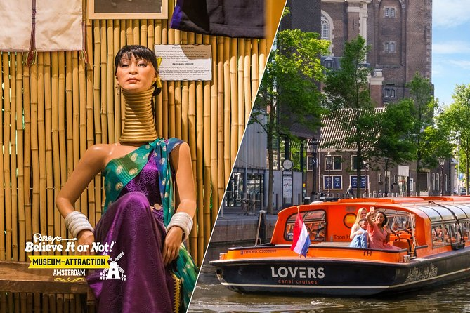 Amsterdam Combo: Ripley's Believe It or Not & 1-Hour Canal Cruise