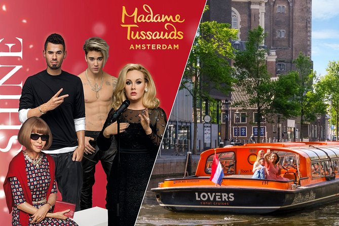 Madame Tussauds Amsterdam & 1-Hour Canal Cruise