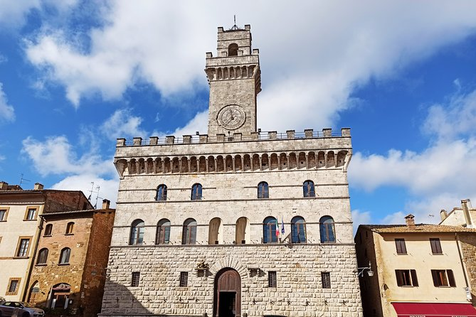 Transfer with stops: Rome-Florence with stop in San Gimignano and Montepulciano