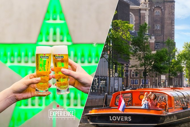 Amsterdam Combo: Heineken Experience & 1-Hour Canal Cruise