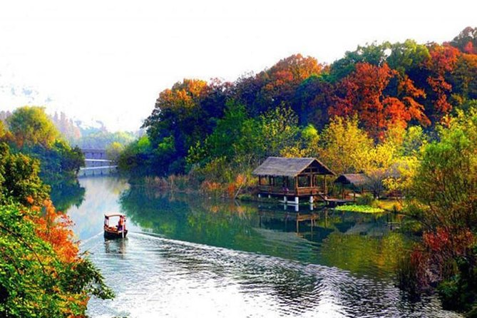 Hanghzhou Xixi Wetland Half Day Tour with Boat Ride