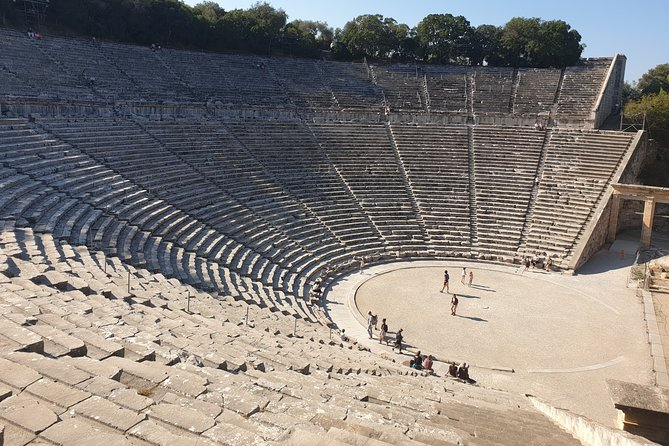 Private Transportation from Athens to Epidaurus Theatre to Watch Theatrical Play