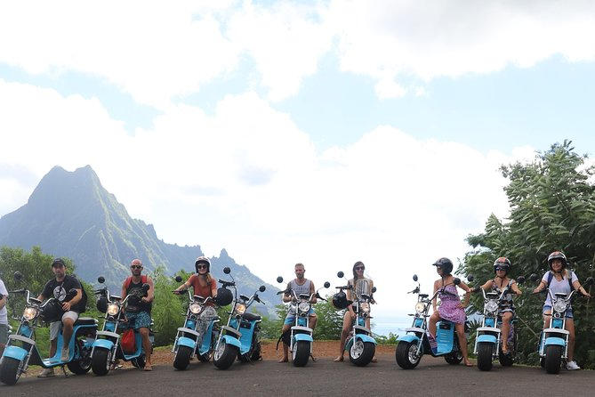 Scooter and bike rental in Moorea