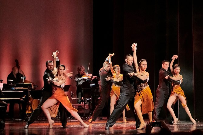 Piazzolla Tango Show Ticket Including Private Transfers From Port & Hotels