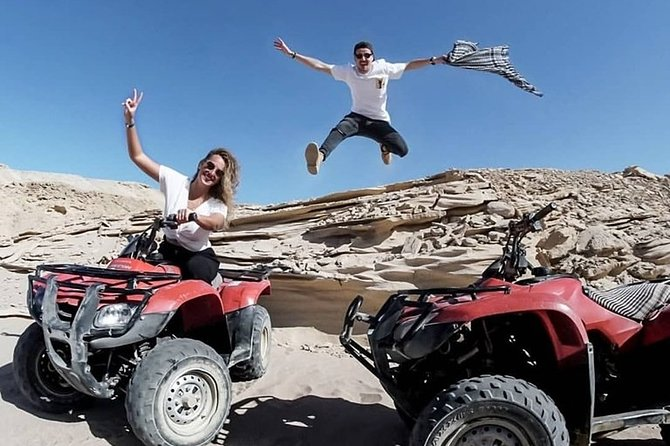 Sunset Desert Safari Trip By ATV Quad in Marsa Alam