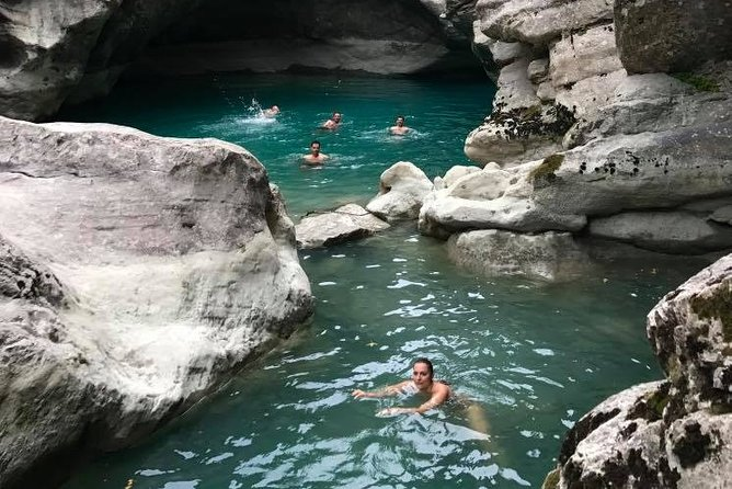 Ultimate Pellumbas Cave and Erzeni Canyons Tour