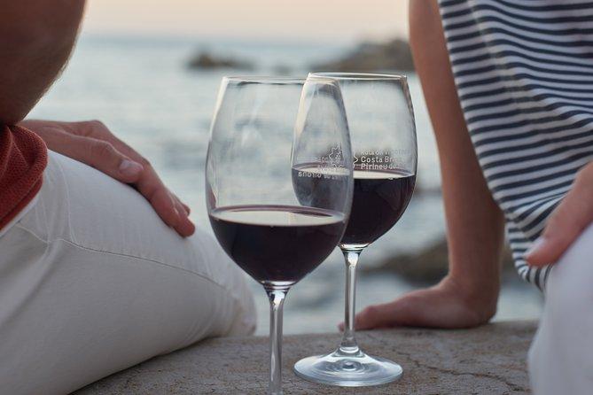 Sea road with Wine Tasting in Costa Brava